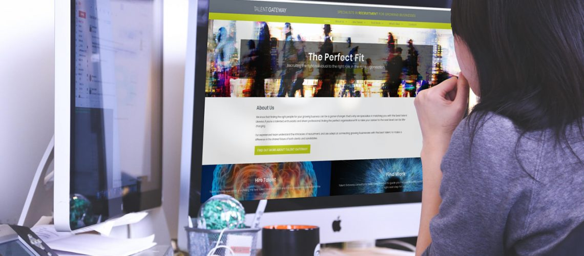 Talent Gateway's Website