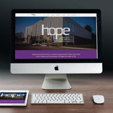 Hope Community Church's Website