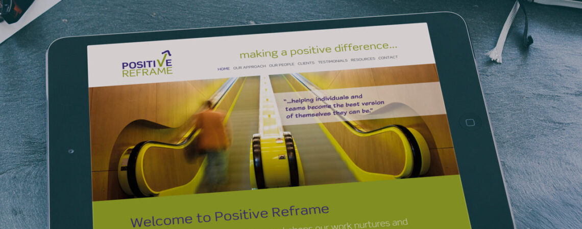 Positive Reframe - business directors Mark Robb and Marcus Child