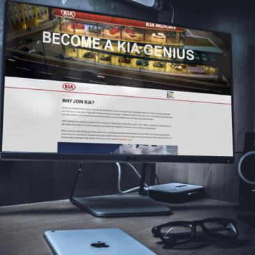 KIA Genius Microsite