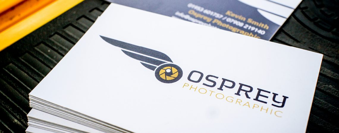 Osprey Photographic Business Card